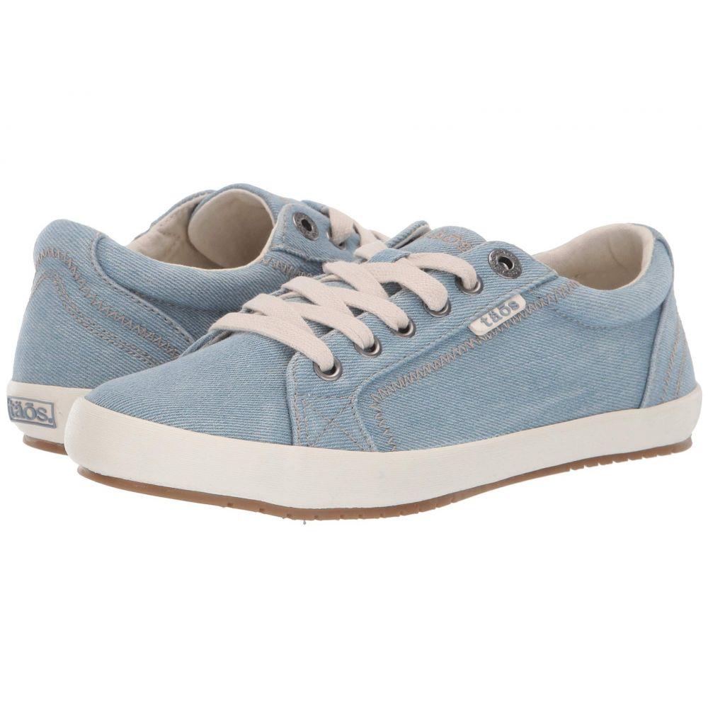 タオス Taos Footwear レディース スニーカー シューズ・靴【Star】Chambray Canvas