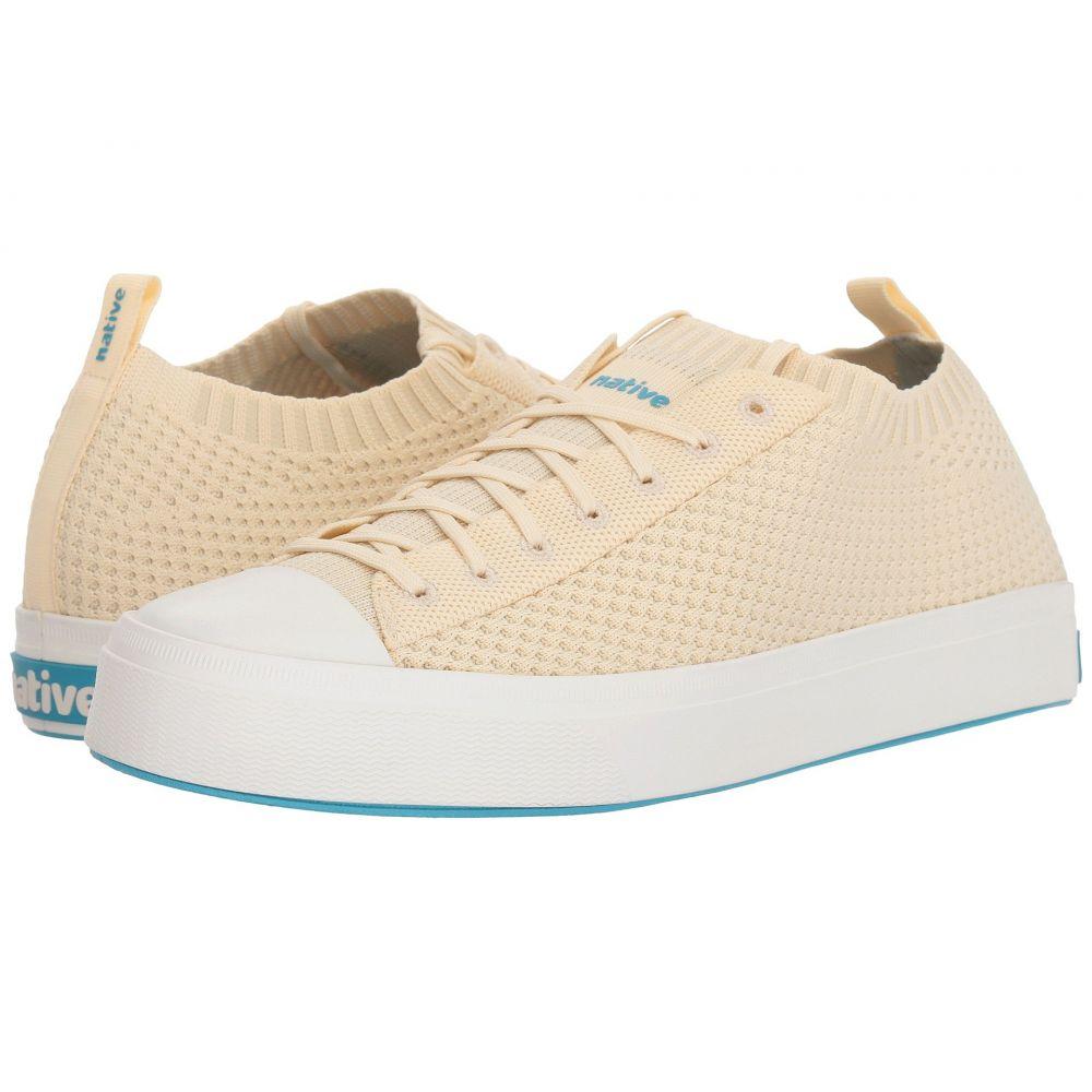 ネイティブ シューズ Native Shoes レディース スニーカー シューズ・靴【Jefferson 2.0 Liteknit】Bone White/Shell White