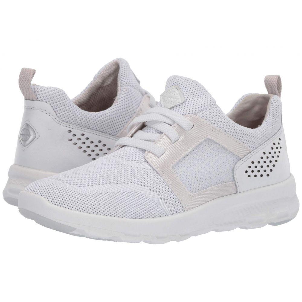 ロックポート Rockport レディース スニーカー シューズ・靴【Let's Walk Knit】White