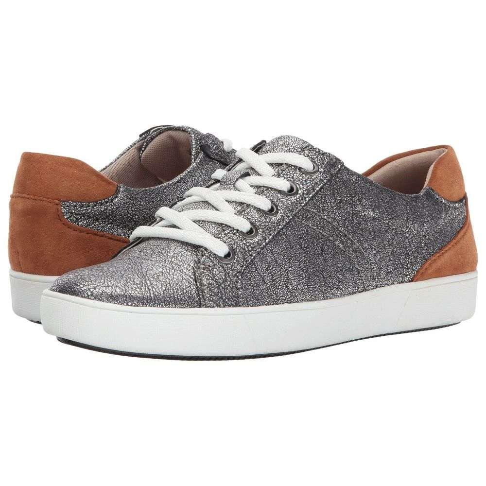 ナチュラライザー Naturalizer レディース スニーカー シューズ・靴【Morrison】Silver Metallic Crackle Leather