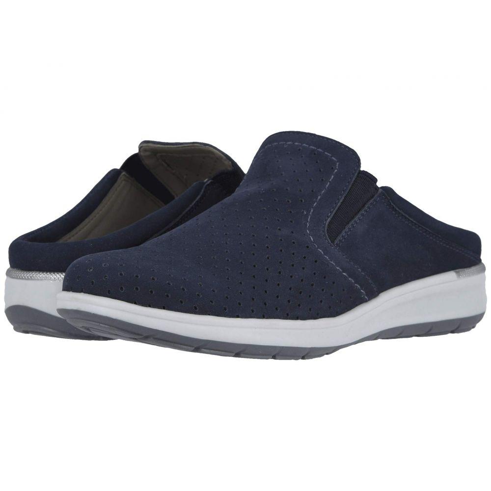 ウォーキング クレードル Walking Cradles レディース スニーカー シューズ・靴【Omega】Navy Nubuck