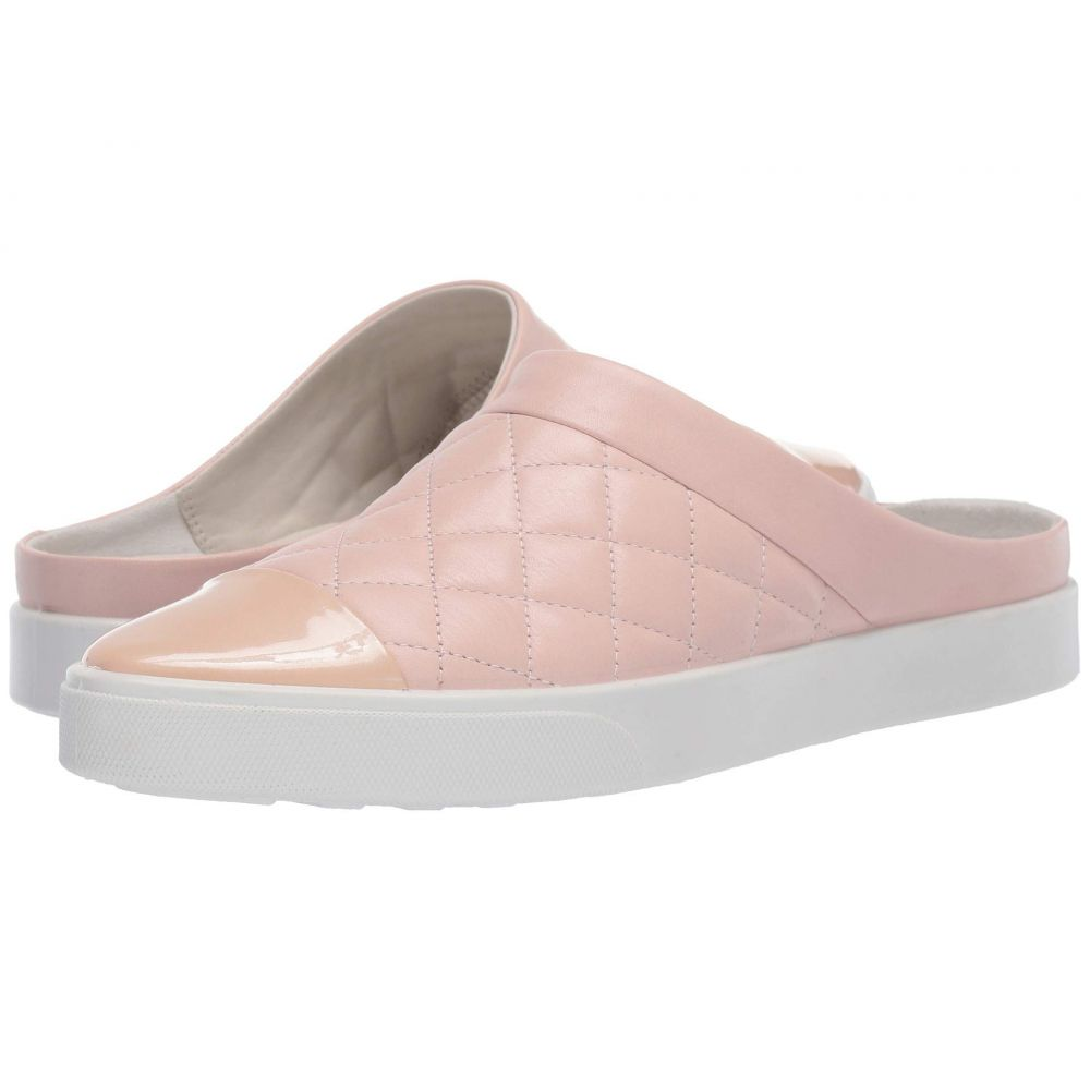 エコー ECCO レディース スニーカー シューズ・靴【Gillian Quilted Slide】Rose Dust/Rose Dust Cow Leather