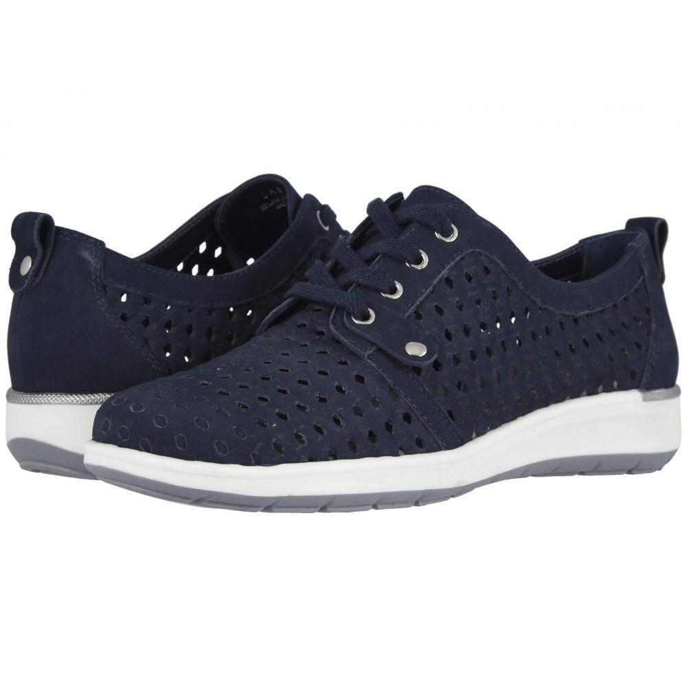 ウォーキング クレードル Walking Cradles レディース スニーカー シューズ・靴【Oasis】Navy Nubuck