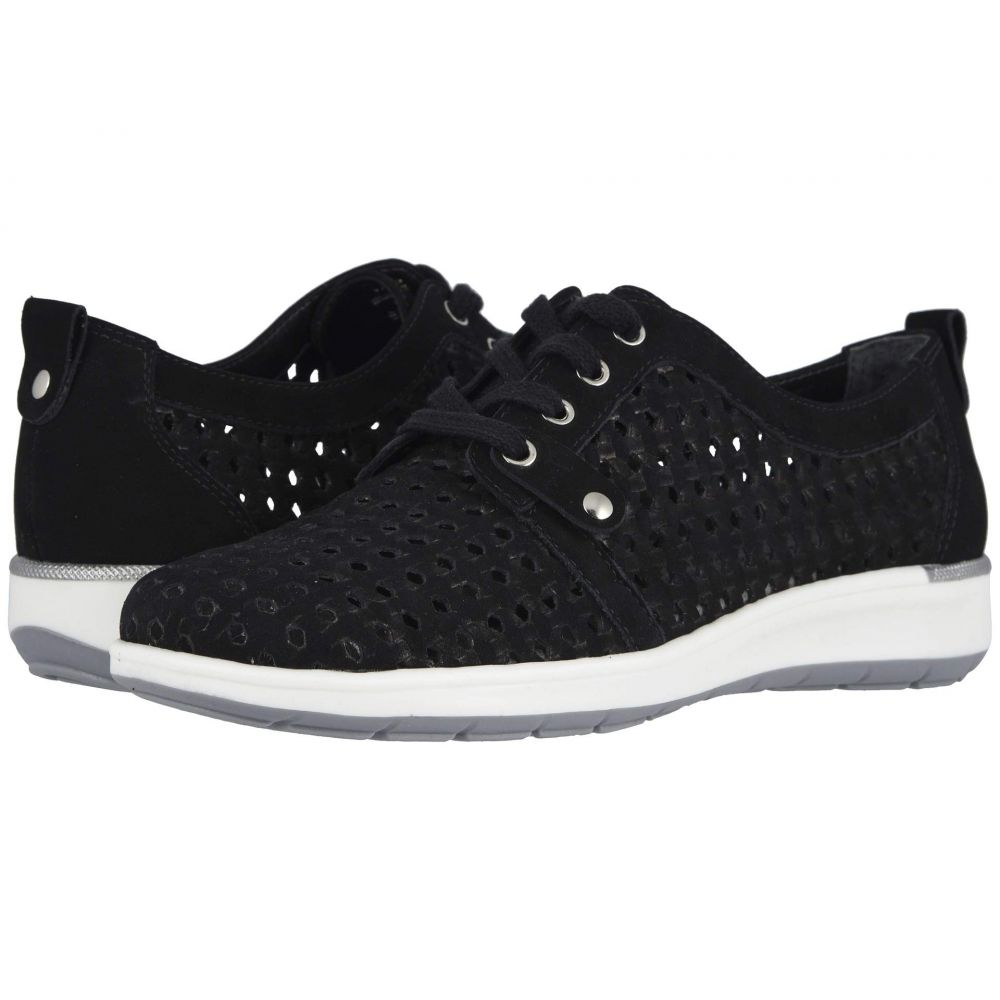 ウォーキング クレードル Walking Cradles レディース スニーカー シューズ・靴【Oasis】Black Nubuck