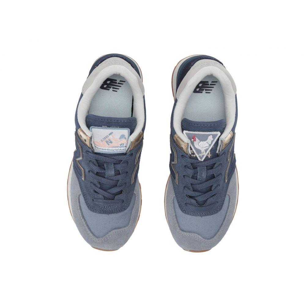 ニューバランス New Balance Classics レディース スニーカー シューズ・靴【574 Metallic Patch】Reflection/Light Gold
