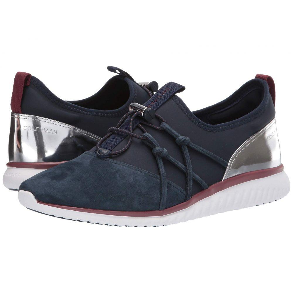 コールハーン Cole Haan レディース スニーカー シューズ・靴【Studiogrand Freedom Sneaker】Blueberry Lycra/Suede