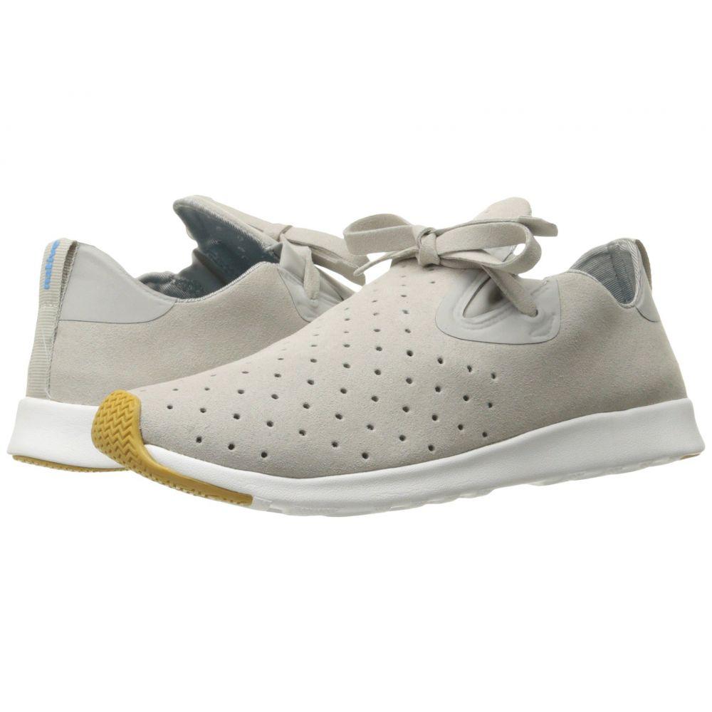 ネイティブ シューズ Native Shoes レディース スニーカー シューズ・靴【Apollo Moc】Pigeon Grey/Shell White/Natural Rubber