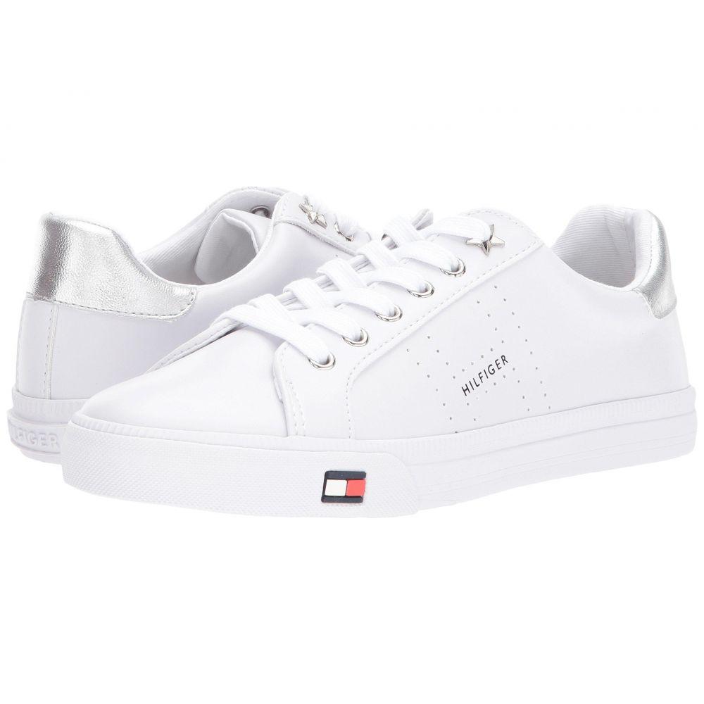 トミー ヒルフィガー Tommy Hilfiger レディース スニーカー シューズ・靴【Lustery】White/Silver