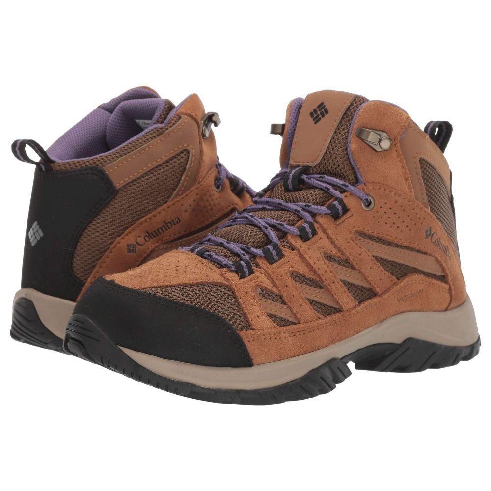 コロンビア Columbia レディース ハイキング・登山 シューズ・靴【Crestwood Mid Waterproof】Dark Truffle/Plum Purple