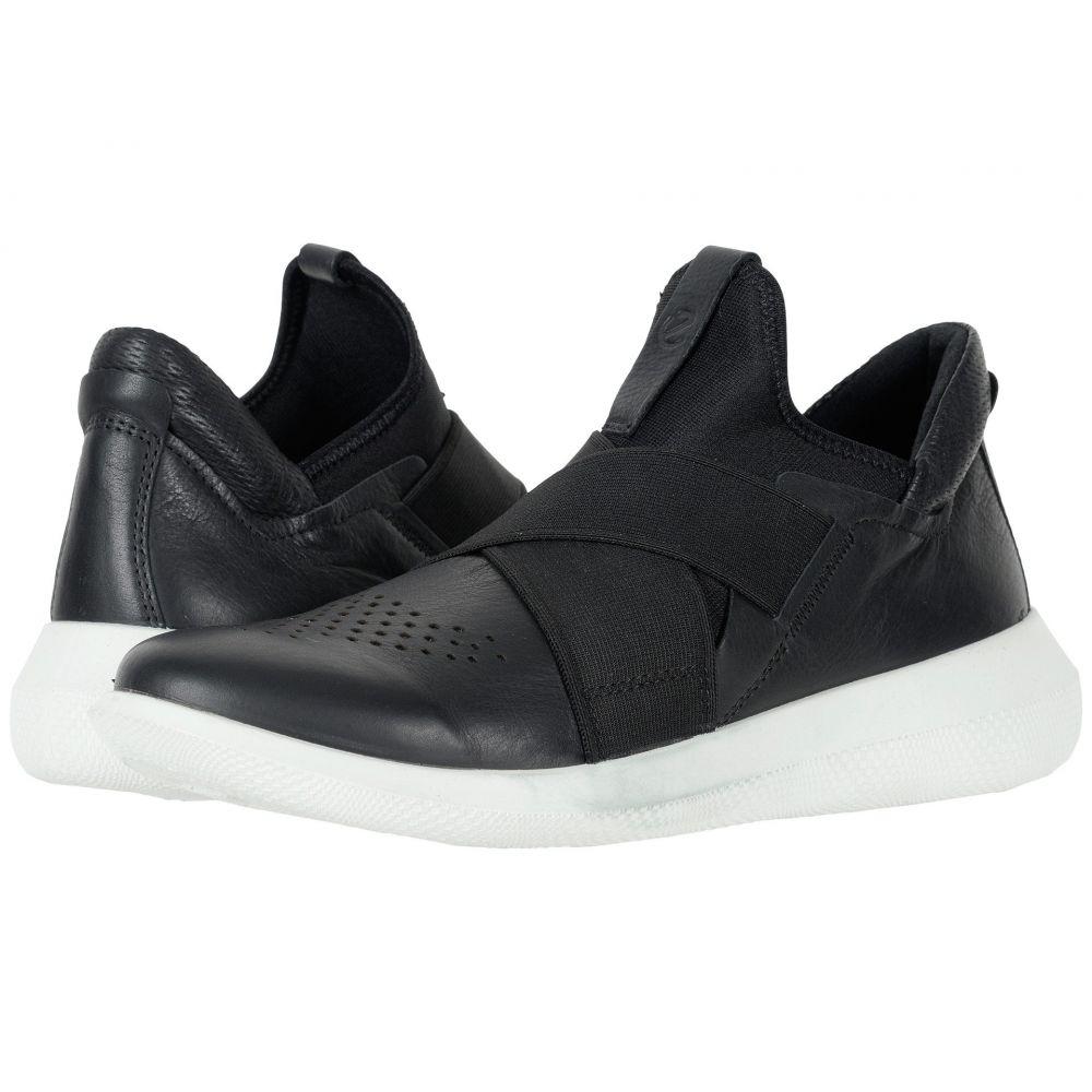 エコー ECCO レディース スニーカー シューズ・靴【Scinapse Band】Black/Black Yak Leather/Textile