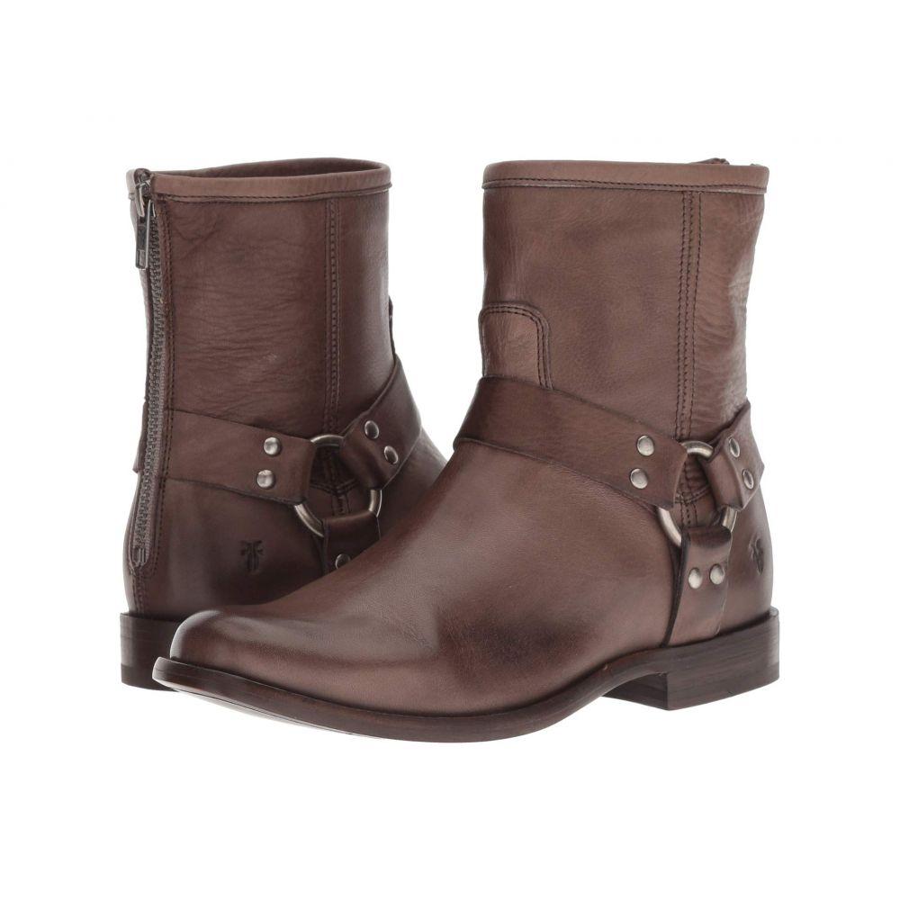 フライ Frye レディース ブーツ シューズ・靴【Phillip Harness Short】Grey Soft Vintage Leather