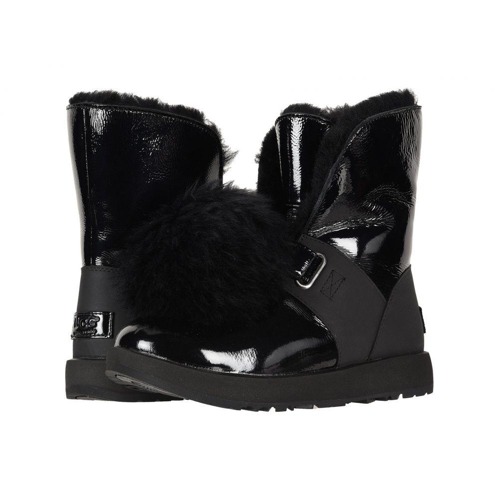 アグ UGG レディース ブーツ シューズ・靴【Isley Patent Waterproof Boot】Black