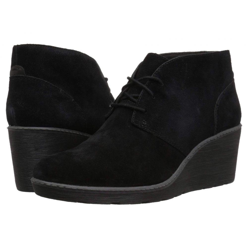 クラークス Clarks レディース ブーツ シューズ・靴【Hazen Charm】Black Suede
