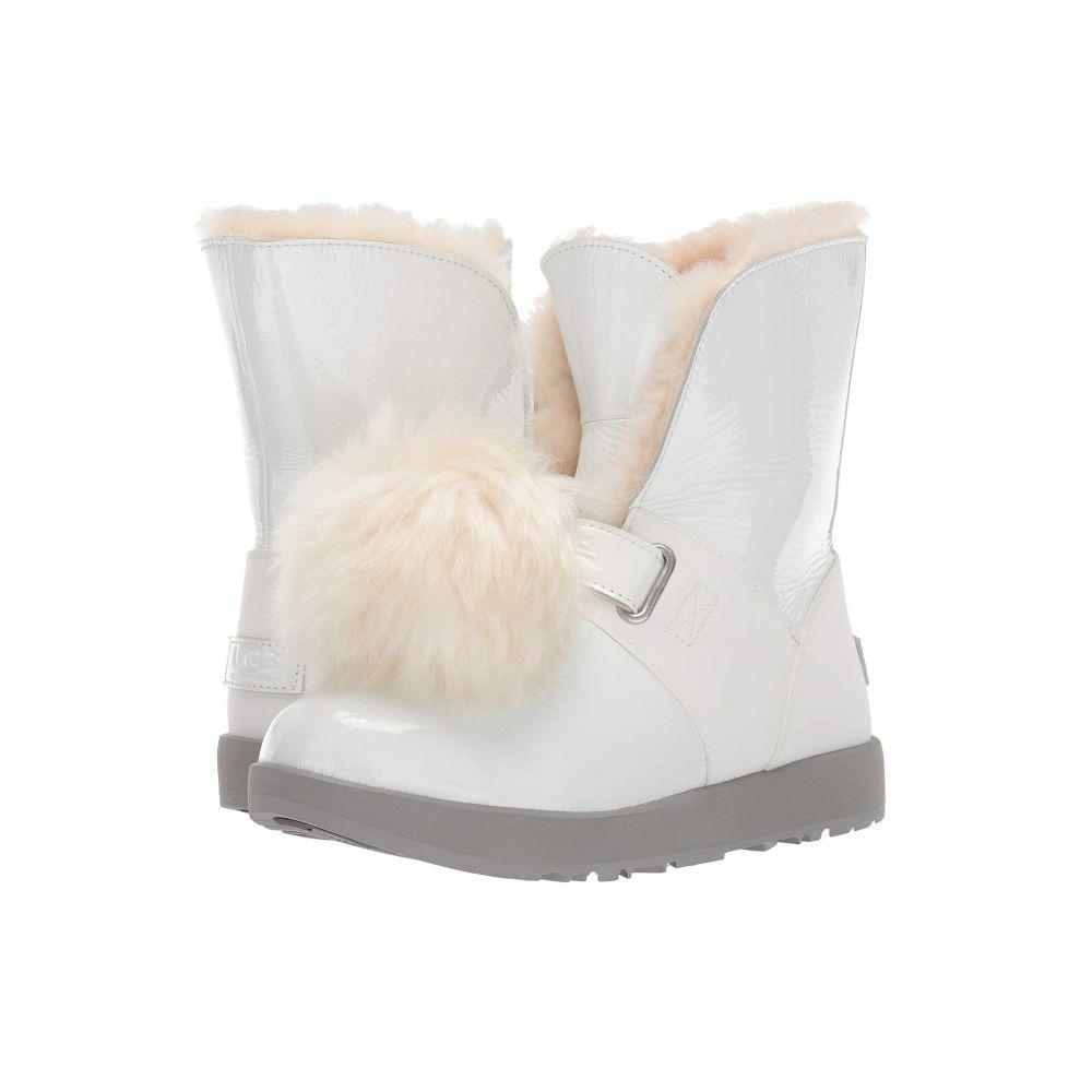 アグ UGG レディース ブーツ シューズ・靴【Isley Patent Waterproof Boot】White