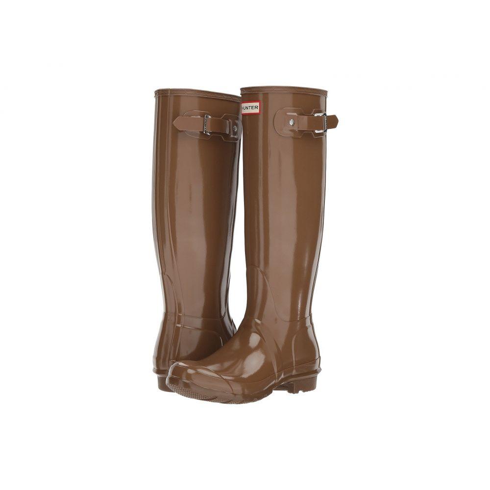 ハンター Hunter レディース レインシューズ・長靴 シューズ・靴【Original Tall Gloss Rain Boots】Mushroom