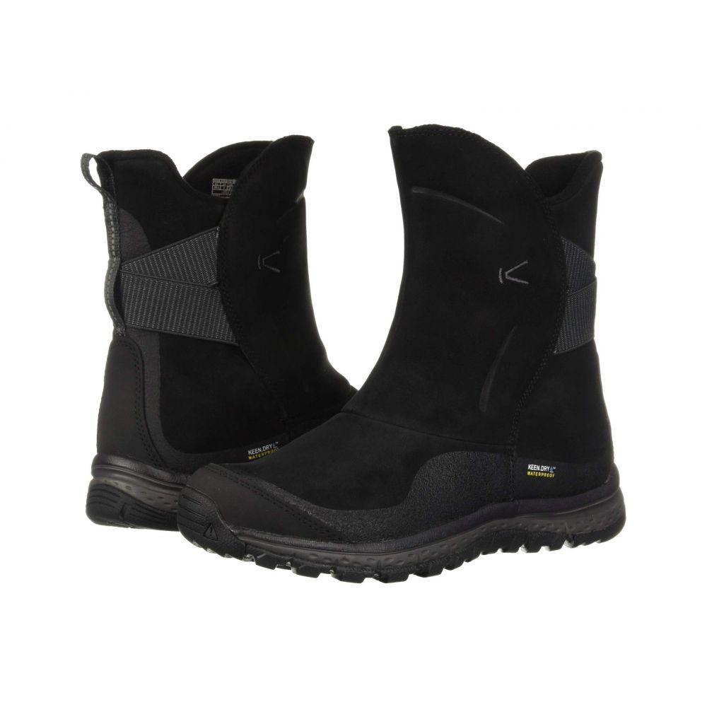 キーン Keen レディース ブーツ シューズ・靴【Winterterra Leather WP Boot】Black/Raven