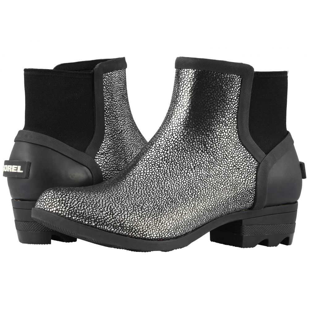 ソレル レディース シューズ・靴 レインシューズ・長靴 Black/Pure Silver 【サイズ交換無料】 ソレル SOREL レディース レインシューズ・長靴 シューズ・靴【Janey Chelsea】Black/Pure Silver