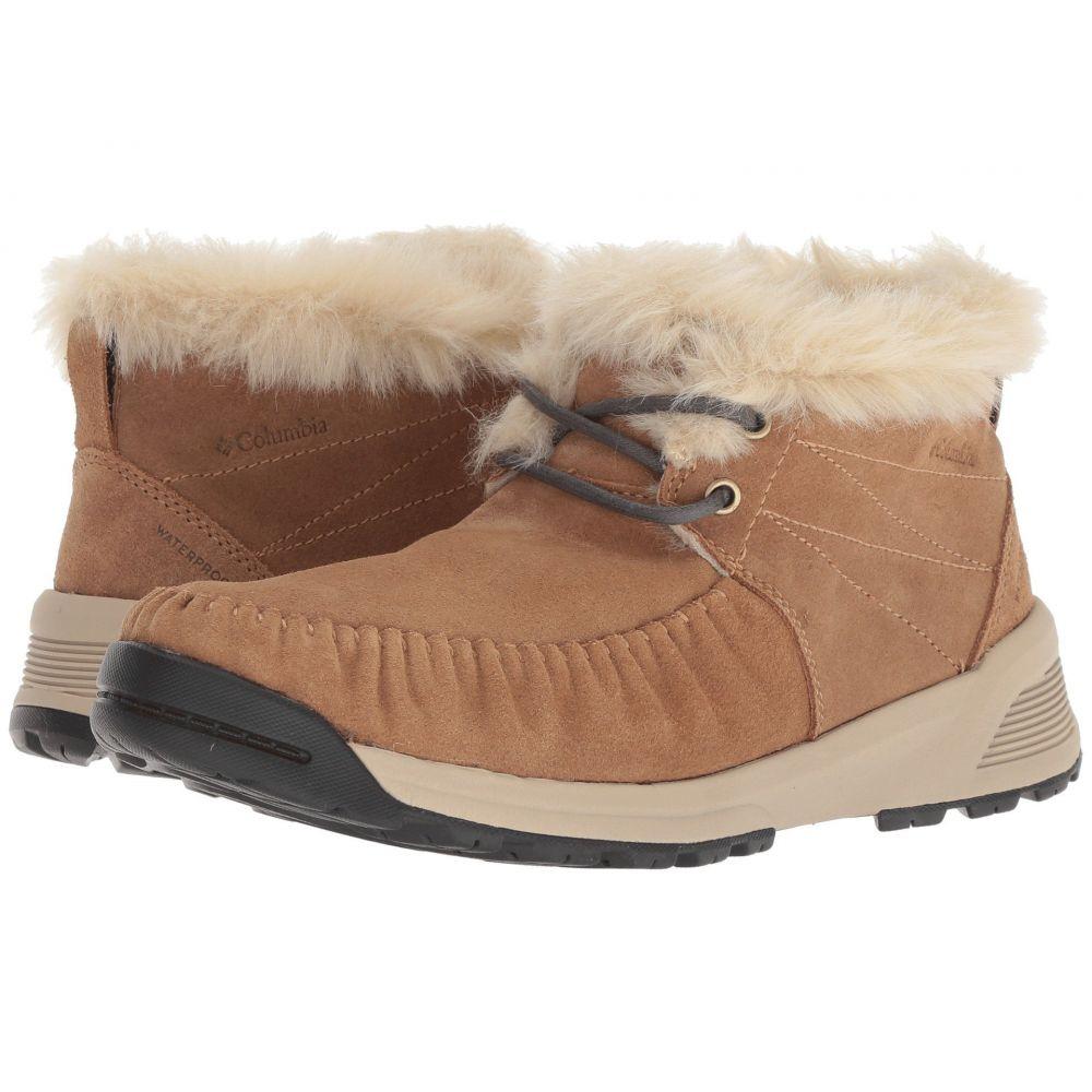 コロンビア Columbia レディース ブーツ シューズ・靴【Maragal Slip WP】Elk/Ancient Fossil