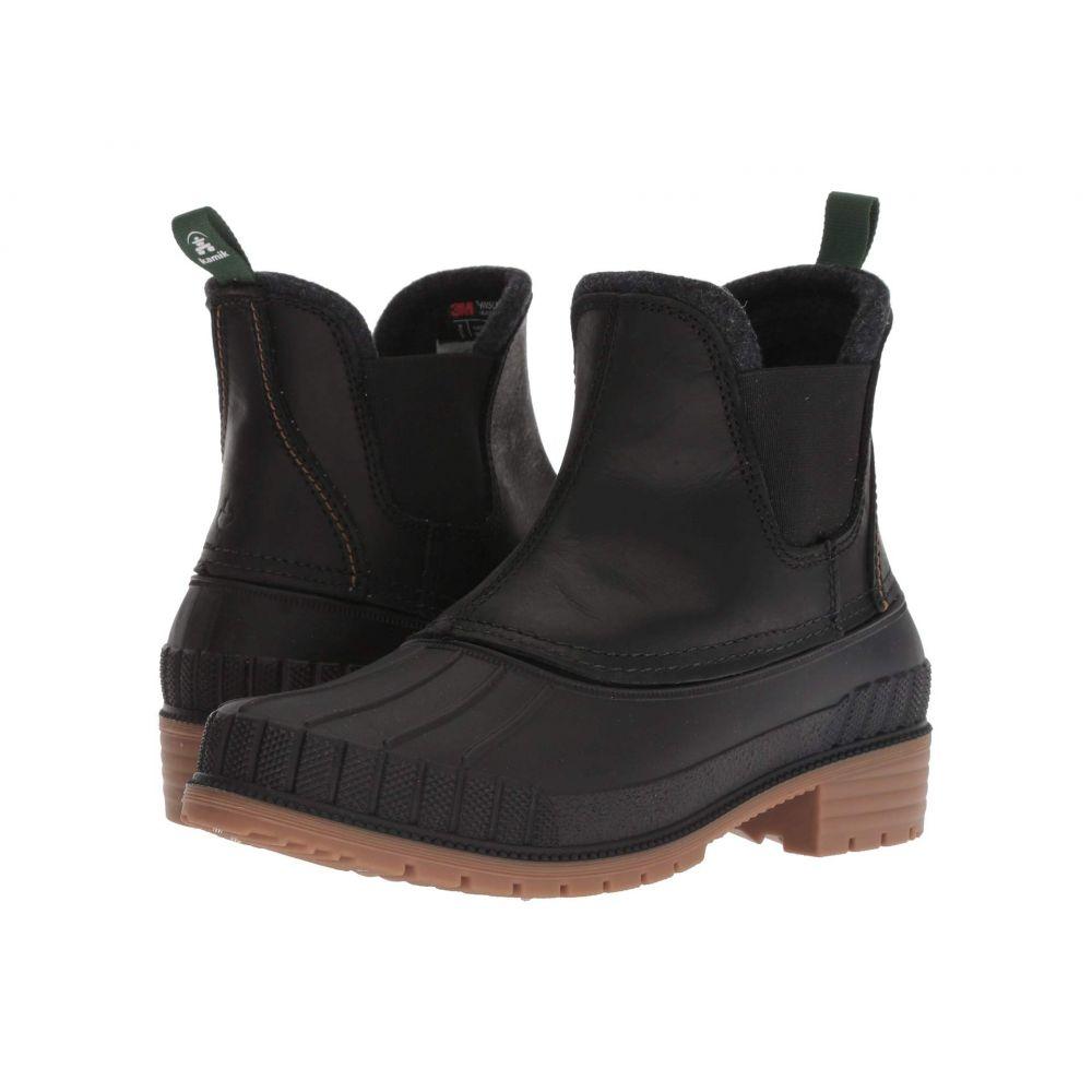 カミック Kamik レディース ブーツ シューズ・靴【SiennaC】Black