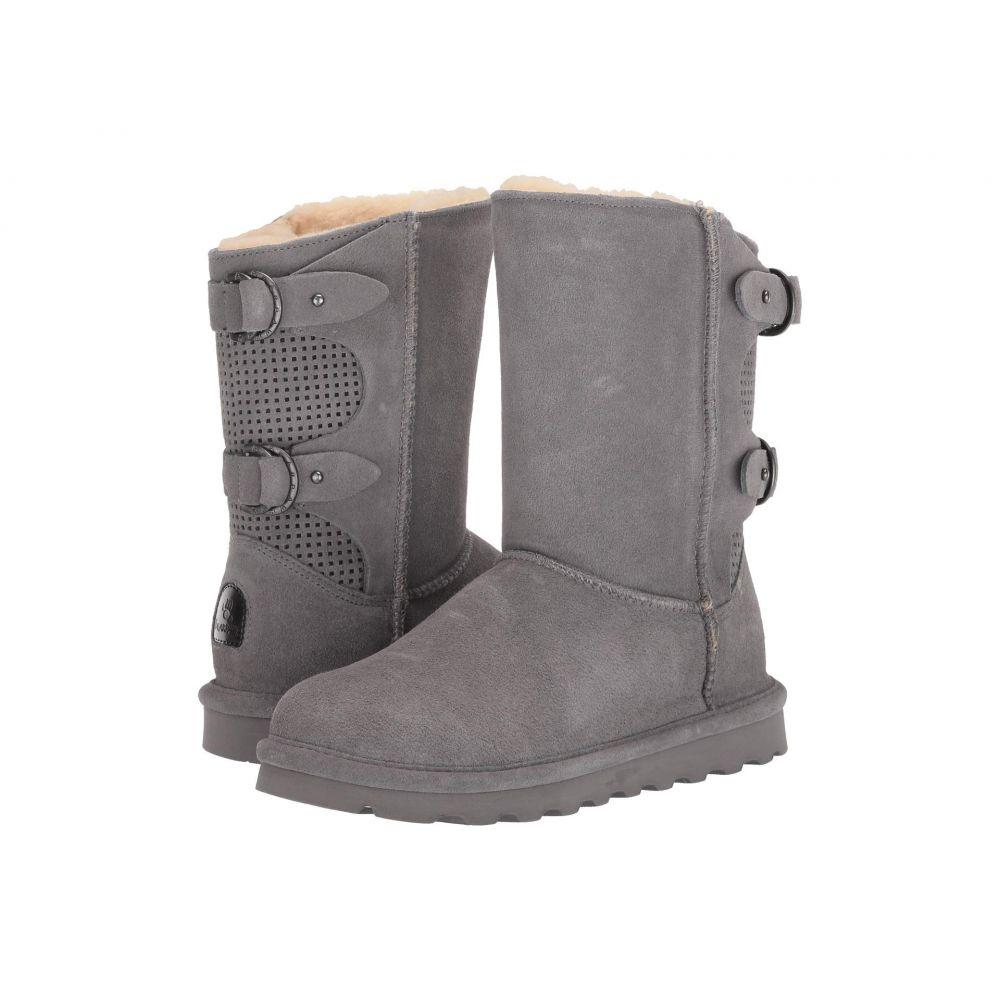 ベアパウ Bearpaw レディース ブーツ シューズ・靴【Clara】Gray Fog