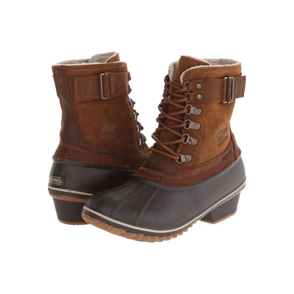 ソレル SOREL レディース ブーツ シューズ・靴【Winter Fancy Lace II】Elk/Grizzly Bear