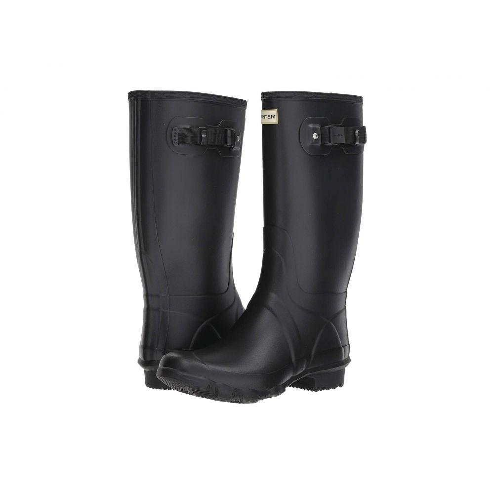 ハンター レディース シューズ・靴 レインシューズ・長靴 Black 【サイズ交換無料】 ハンター Hunter レディース レインシューズ・長靴 フィールドブーツ シューズ・靴【Huntress Field Boot】Black