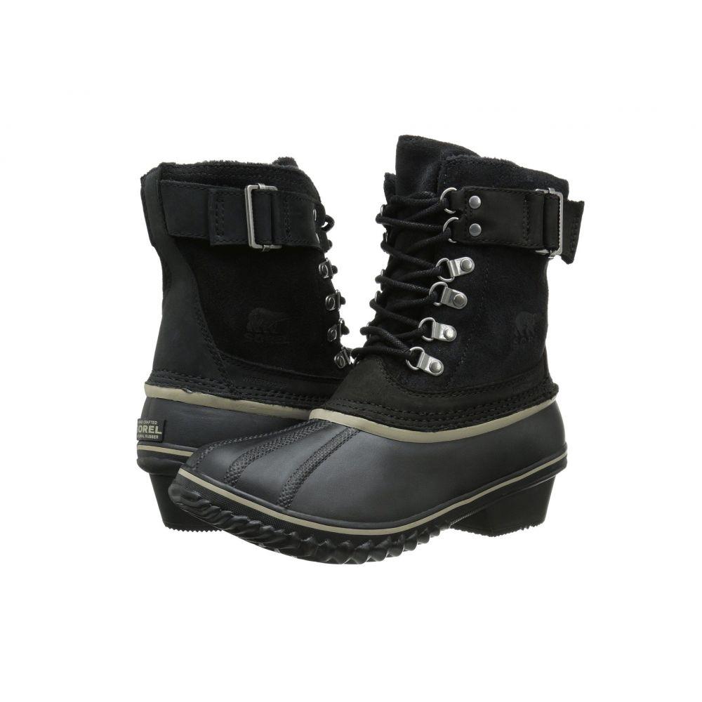 ソレル SOREL レディース ブーツ シューズ・靴【Winter Fancy Lace II】Black/Silver Sage