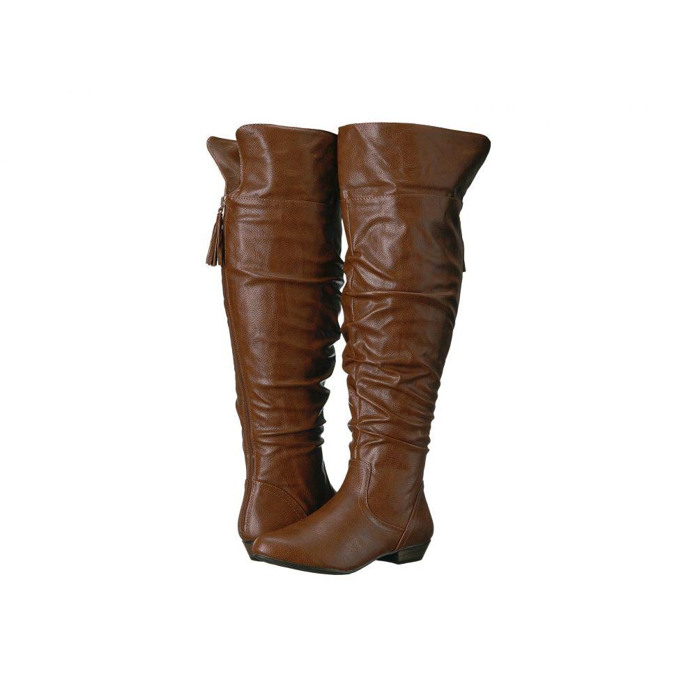ファーガリシャス ファーギー Fergalicious レディース ブーツ シューズ・靴【Rookie Wide Calf】Cognac
