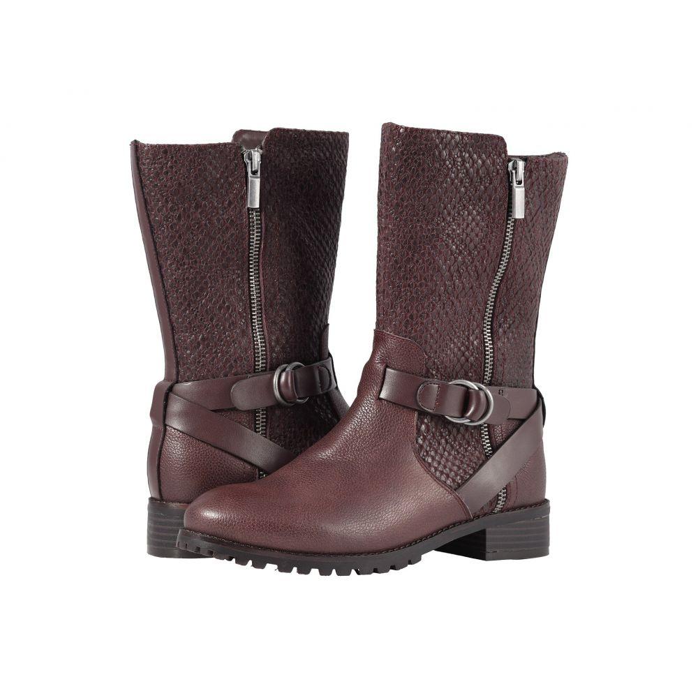 ソフトウォーク SoftWalk レディース ブーツ シューズ・靴【Marlowe】Bordeaux