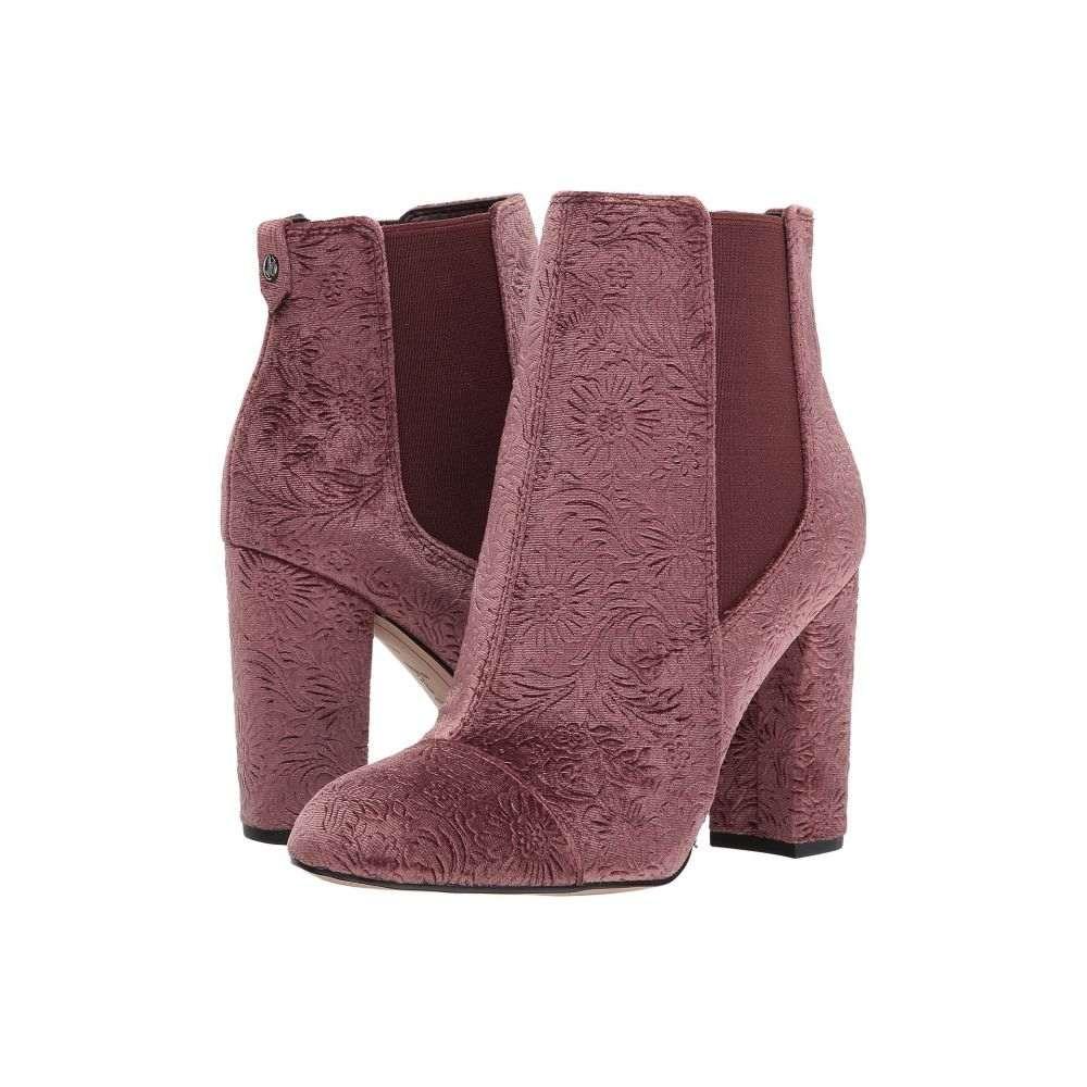 サム エデルマン Sam Edelman レディース ブーツ シューズ・靴【Case】Malbec Floral Embossed Velvet