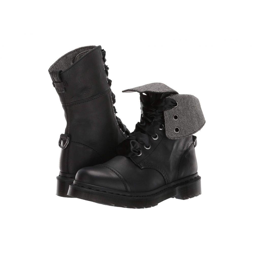 ドクターマーチン Dr. Martens レディース ブーツ シューズ・靴【Aimilita】Black Darkened Mirage