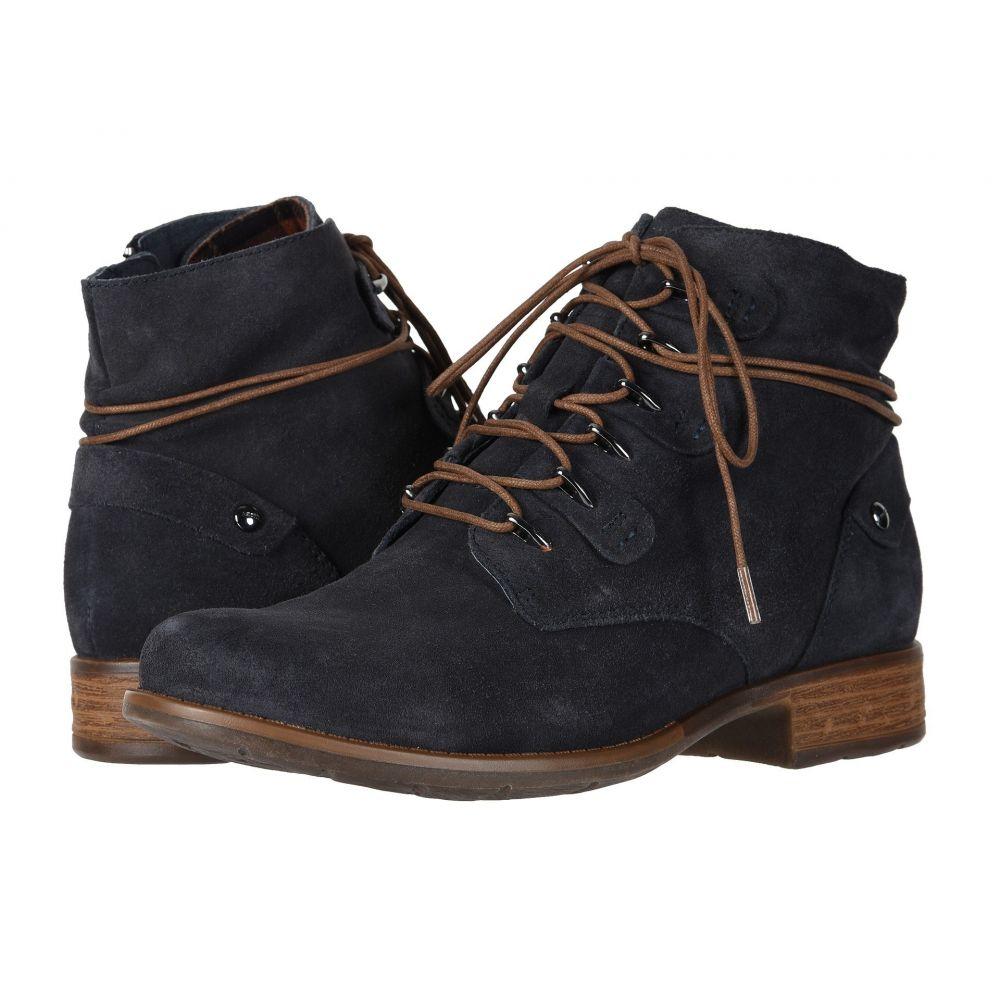カルソーアースシューズ Earth レディース ブーツ シューズ・靴【Boone】Navy Suede