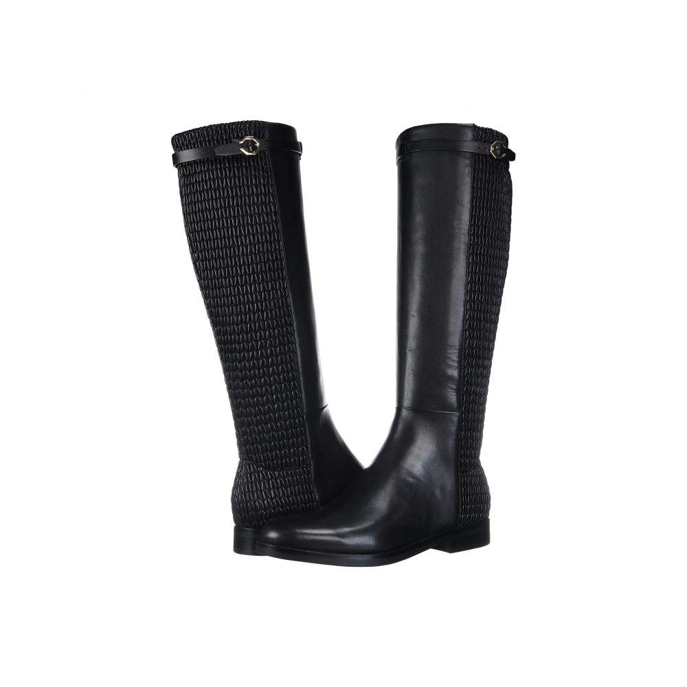 コールハーン Cole Haan レディース ブーツ シューズ・靴【Abi Stretch Strap Boot】Black Leather