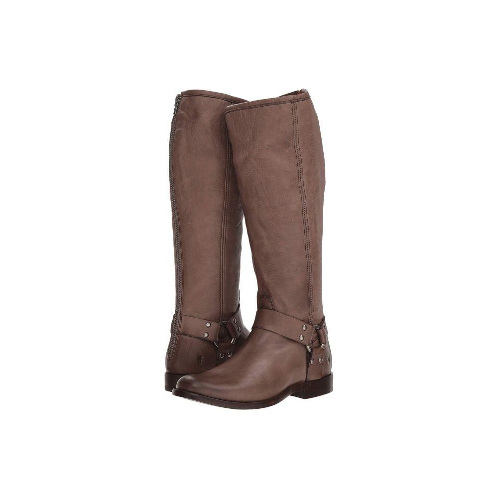 フライ Frye レディース ブーツ シューズ・靴【Phillip Harness Tall】Grey Soft Vintage Leather