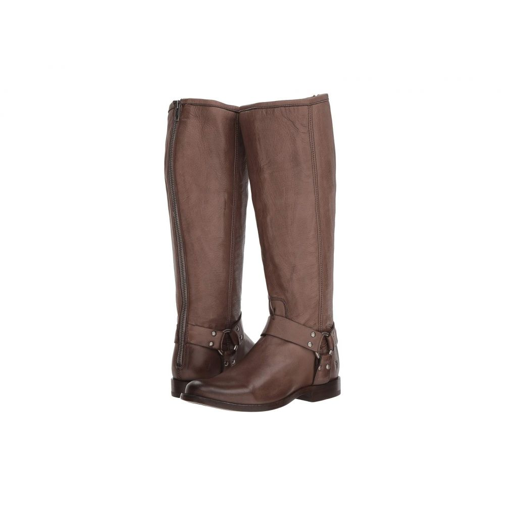 フライ Frye レディース ブーツ シューズ・靴【Phillip Harness Tall】Grey Extended Soft Vintage Leather
