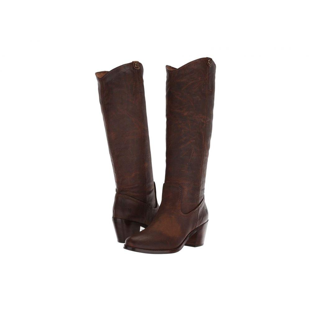 フライ Frye レディース ブーツ シューズ・靴【Jolene Pull-On】Brown Smooth Pull-Up