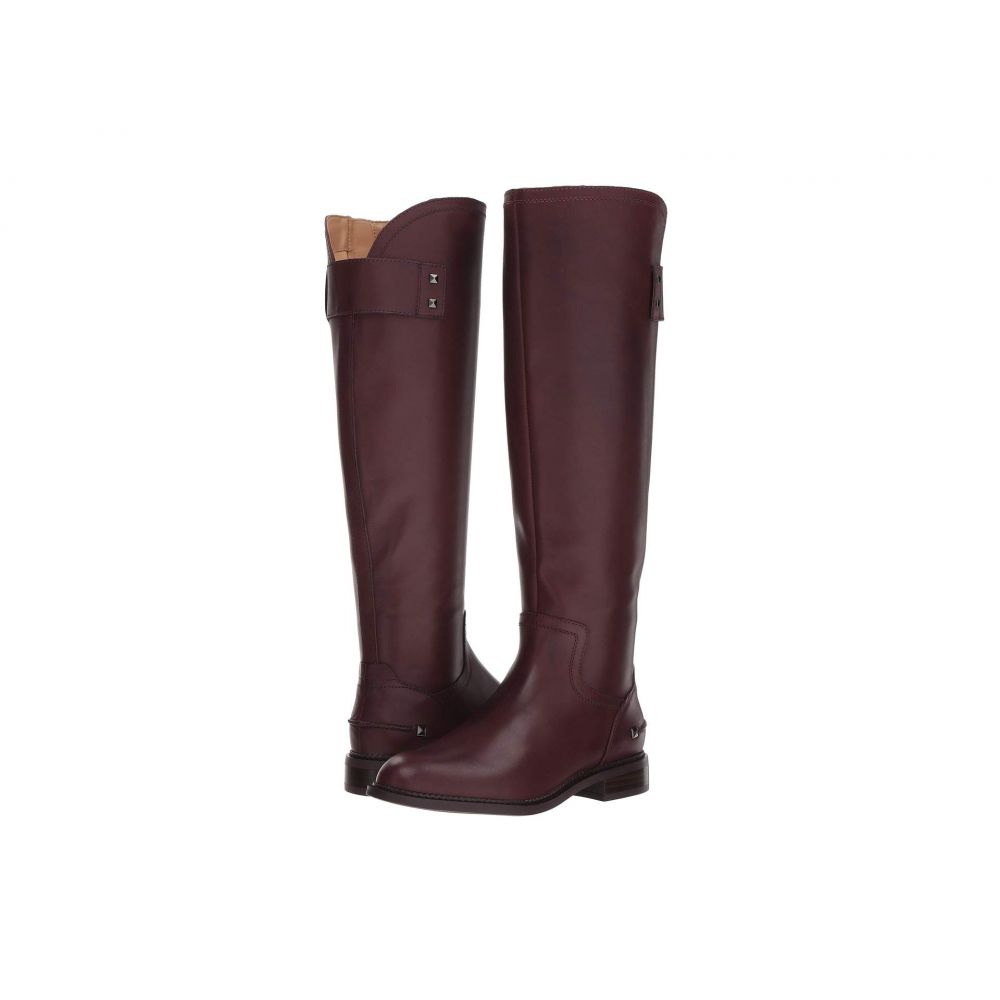 フランコサルト Franco Sarto レディース ブーツ シューズ・靴【Henrietta】Dark Burgundy Bally Premium Leather