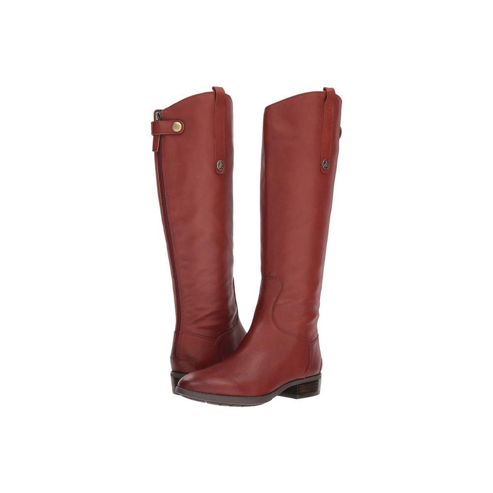 サム エデルマン Sam Edelman レディース ブーツ シューズ・靴【Penny Leather Riding Boot】Redwood Brown Basto Crust Tumbled Leather