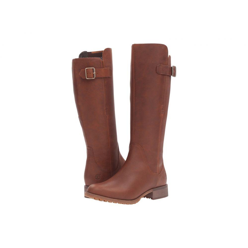 ティンバーランド Timberland レディース ブーツ シューズ・靴【Banfield Tall Waterproof Boot】Dark Brown Full Grain