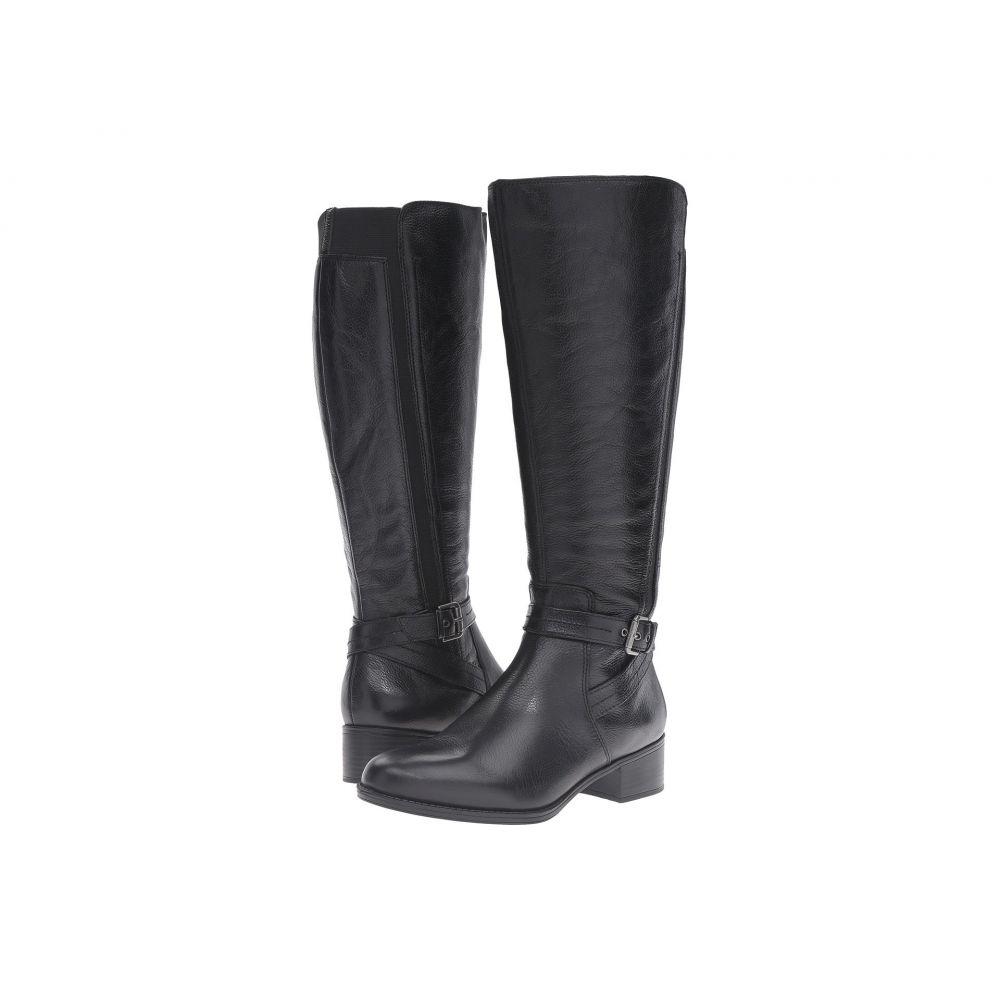 ナチュラライザー Naturalizer レディース ブーツ シューズ・靴【Wynnie Wide Calf】Black Leather