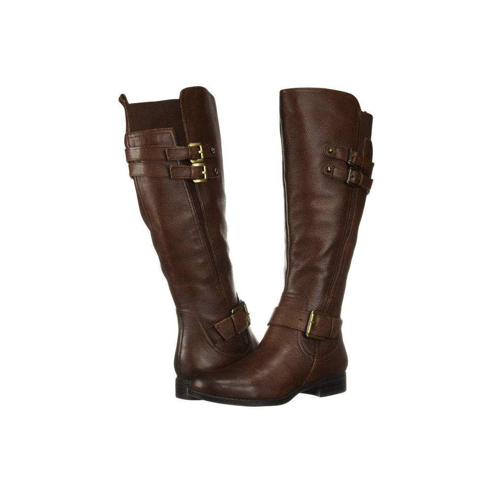 ナチュラライザー Naturalizer レディース ブーツ シューズ・靴【Jessie Wide Calf】Chocolate Wide Calf Leather