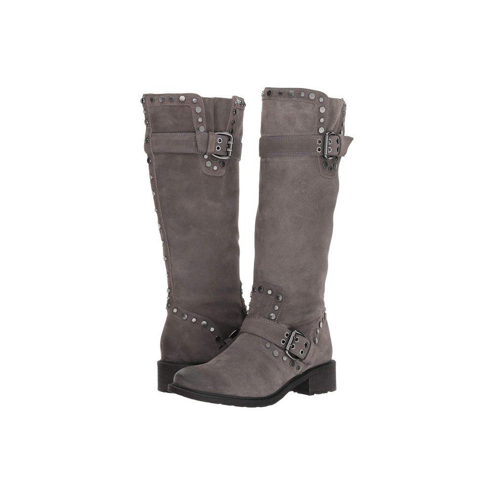 サム エデルマン Sam Edelman レディース ブーツ シューズ・靴【Deryn】Steel Grey Velutto Suede Leather