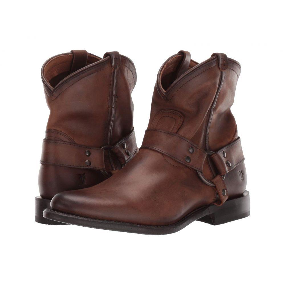フライ Frye レディース ブーツ シューズ・靴【Wyatt Harness】Dark Brown