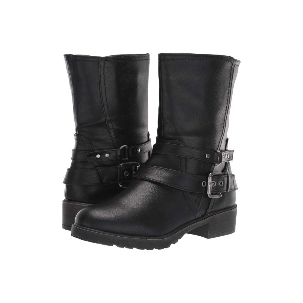 ファーガリシャス ファーギー Fergalicious レディース ブーツ シューズ・靴【Recall】Black Tumbled