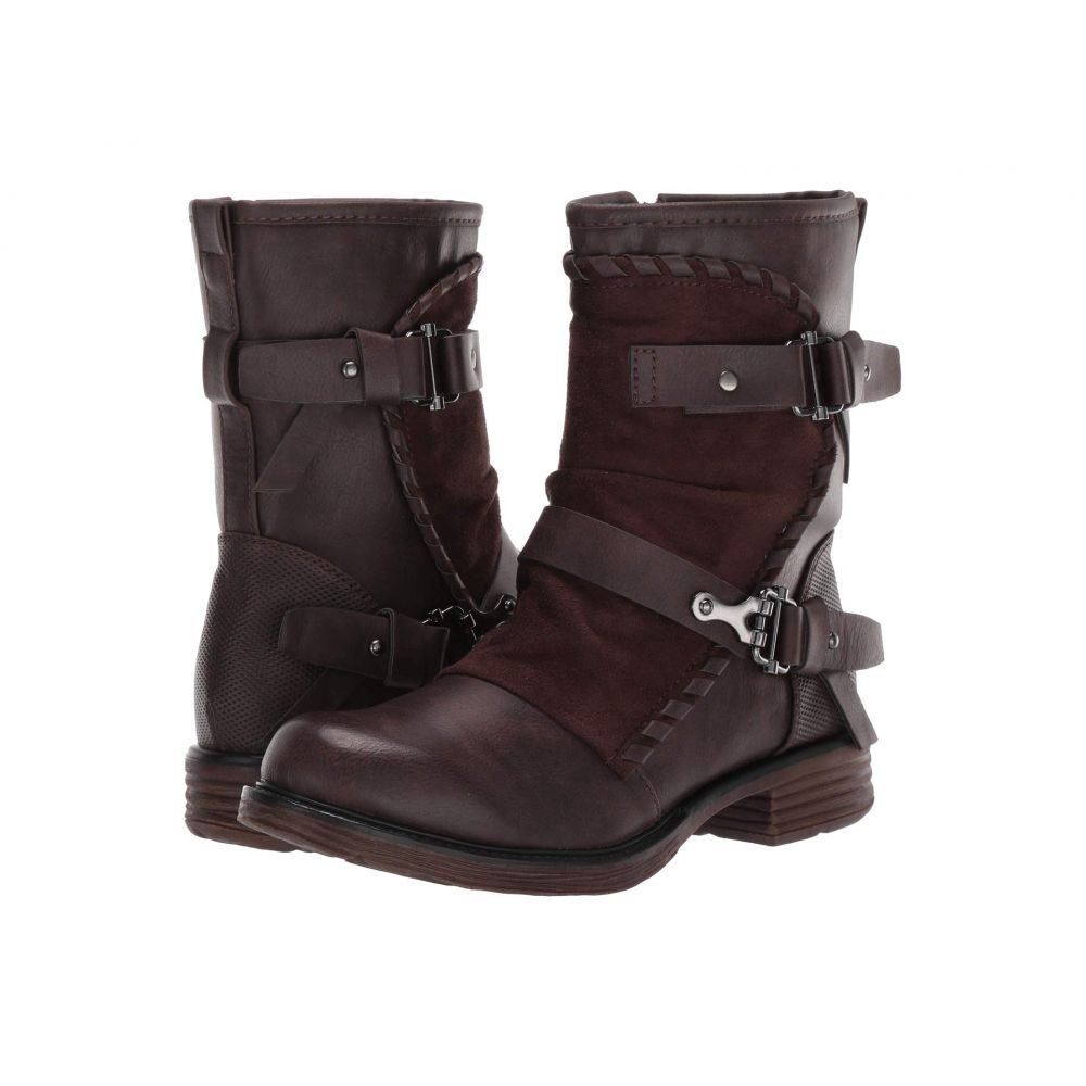パトリツィア PATRIZIA レディース ブーツ シューズ・靴【Edgie】Dark Brown