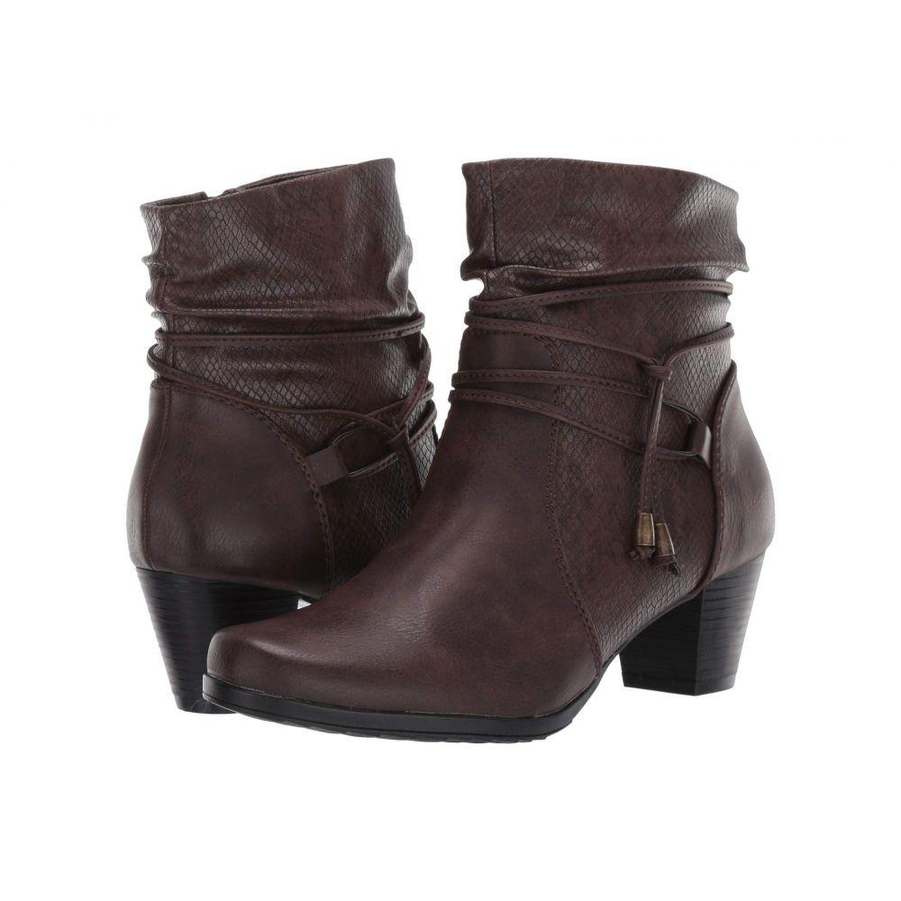 パトリツィア PATRIZIA レディース ブーツ シューズ・靴【Winona】Brown