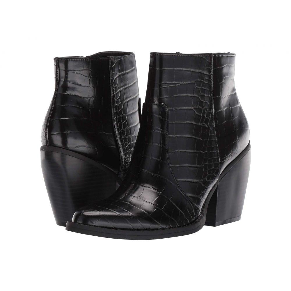 マッデン ガール Madden Girl レディース ブーツ シューズ・靴【Kicck】Black Embossed