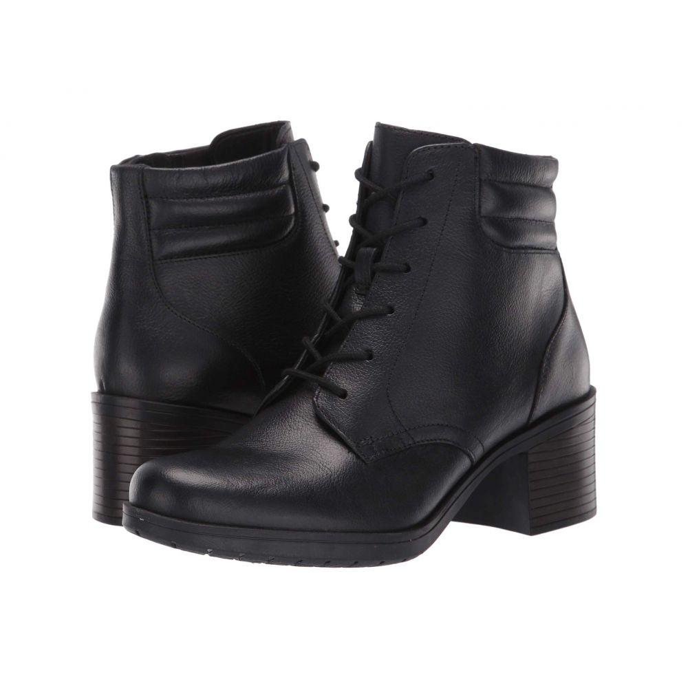 クラークス Clarks レディース ブーツ シューズ・靴【Hollis Jasmine】Black Leather