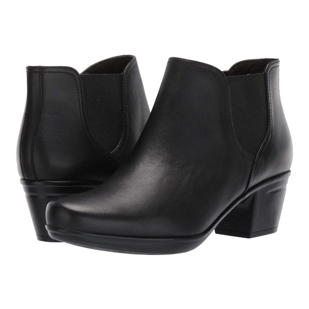 クラークス Clarks レディース ブーツ シューズ・靴【Emslie Noreen】Black Leather