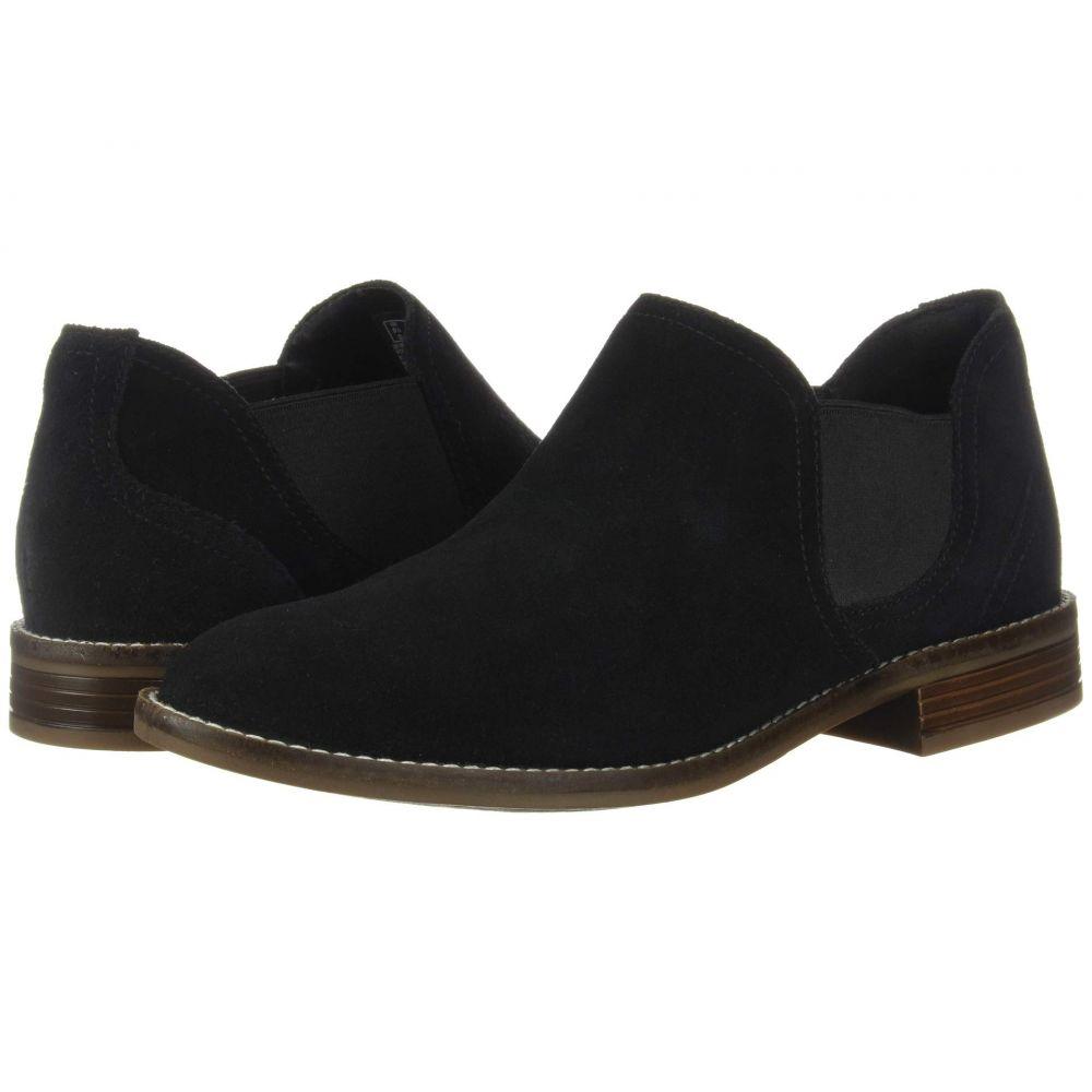 クラークス Clarks レディース ブーツ シューズ・靴【Camzin Maple】Black Suede